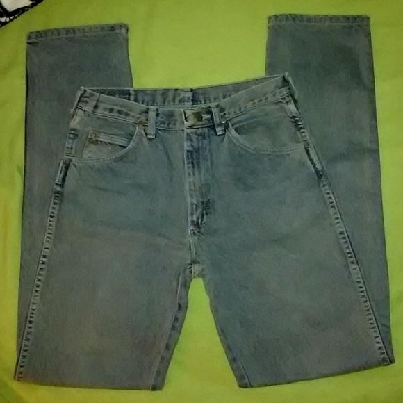ec0c7ef9 Wrangler Jeans | Mens 30x33 Heavy Duty Slim Work | Poshmark
